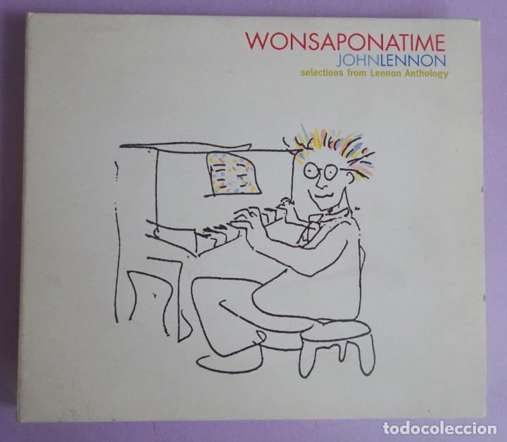 JOHN LENNON. WONSAPONATIME. DIGIPACK (Música - CD's Rock)