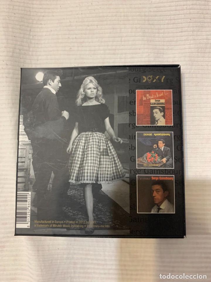 CDs de Música: Discografía de Serge Gainsbourg completa. Sus 17 álbumes de estudio - Foto 3 - 286725643