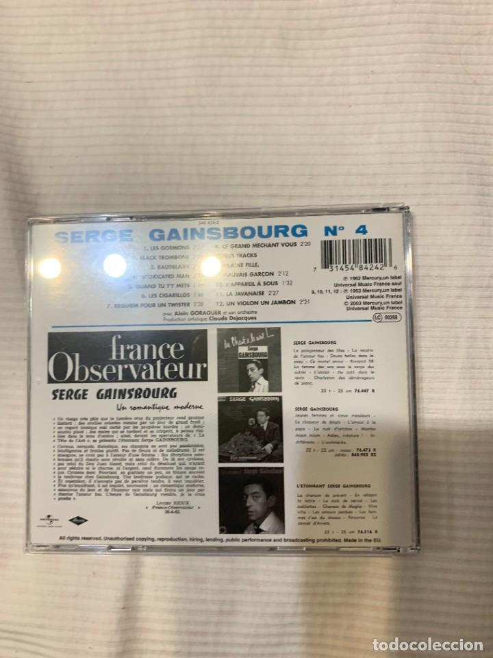CDs de Música: Discografía de Serge Gainsbourg completa. Sus 17 álbumes de estudio - Foto 6 - 286725643