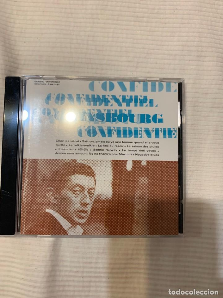 CDs de Música: Discografía de Serge Gainsbourg completa. Sus 17 álbumes de estudio - Foto 7 - 286725643