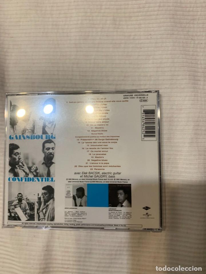 CDs de Música: Discografía de Serge Gainsbourg completa. Sus 17 álbumes de estudio - Foto 8 - 286725643