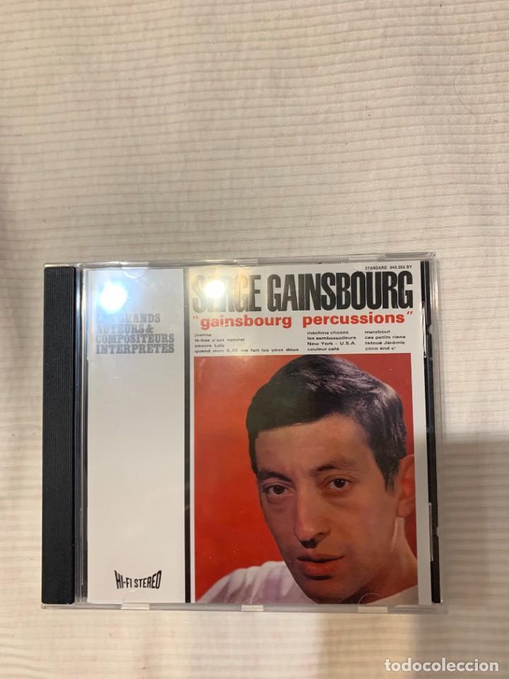 CDs de Música: Discografía de Serge Gainsbourg completa. Sus 17 álbumes de estudio - Foto 9 - 286725643