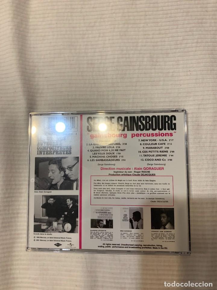CDs de Música: Discografía de Serge Gainsbourg completa. Sus 17 álbumes de estudio - Foto 10 - 286725643