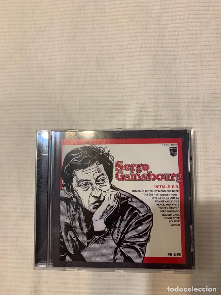 CDs de Música: Discografía de Serge Gainsbourg completa. Sus 17 álbumes de estudio - Foto 11 - 286725643