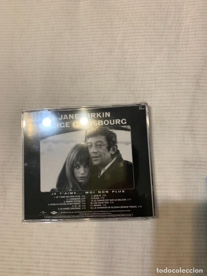 CDs de Música: Discografía de Serge Gainsbourg completa. Sus 17 álbumes de estudio - Foto 16 - 286725643