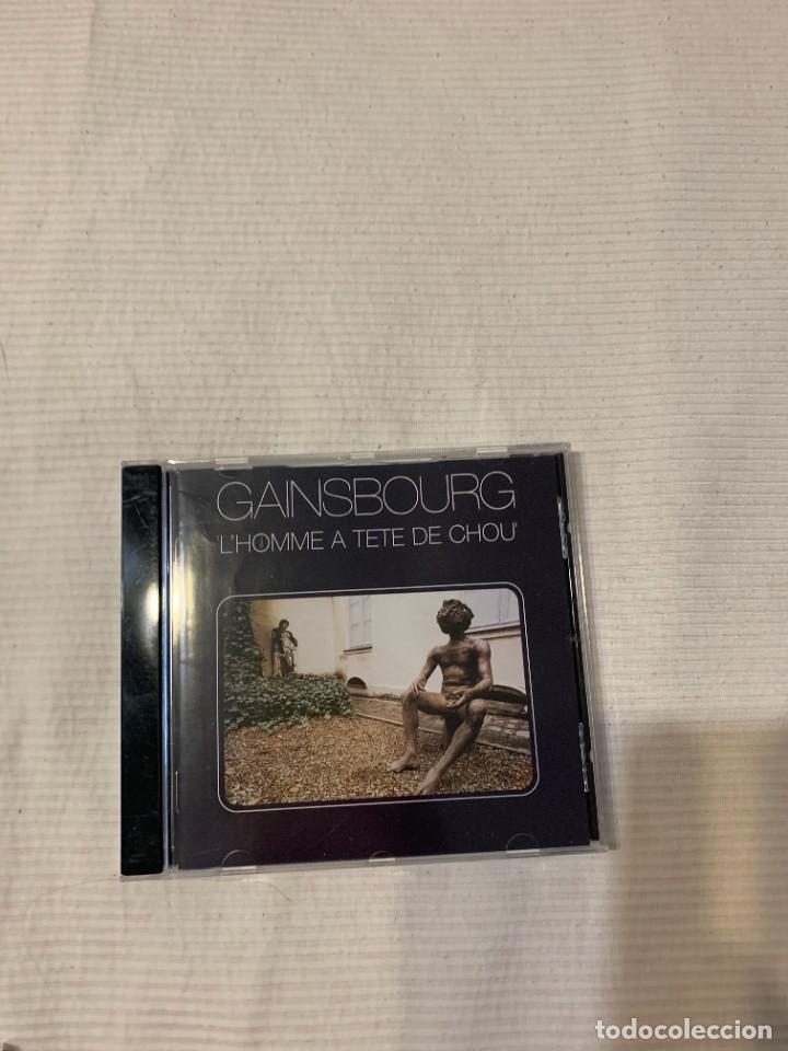 CDs de Música: Discografía de Serge Gainsbourg completa. Sus 17 álbumes de estudio - Foto 23 - 286725643