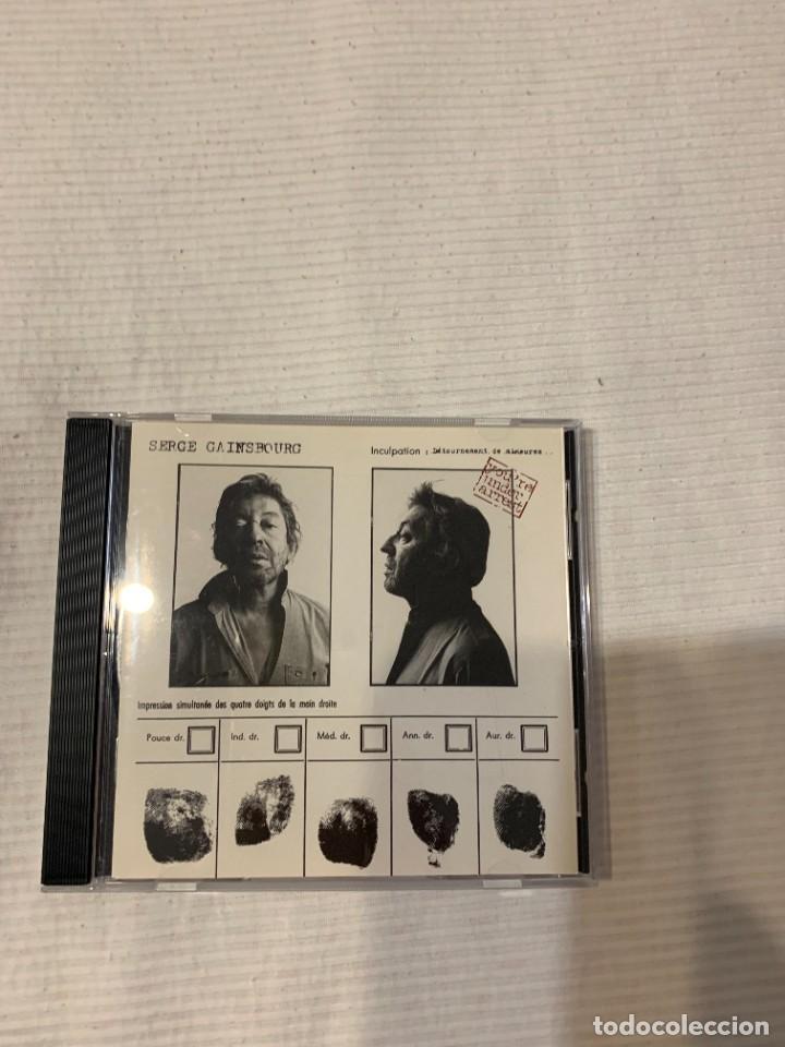 CDs de Música: Discografía de Serge Gainsbourg completa. Sus 17 álbumes de estudio - Foto 31 - 286725643
