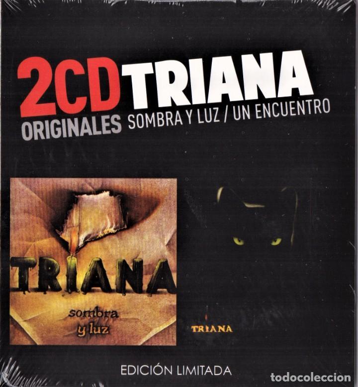 TRIANA 2 CDS SOMBRA Y LUZ Y UN ENCUENTRO NUEVO PRECINTADO (Música - CD's Rock)