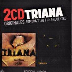 CDs de Música: TRIANA 2 CDS SOMBRA Y LUZ Y UN ENCUENTRO NUEVO PRECINTADO. Lote 286744773