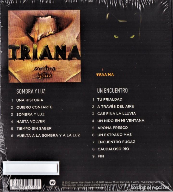 CDs de Música: TRIANA 2 CDS SOMBRA Y LUZ Y UN ENCUENTRO NUEVO PRECINTADO - Foto 2 - 286744773