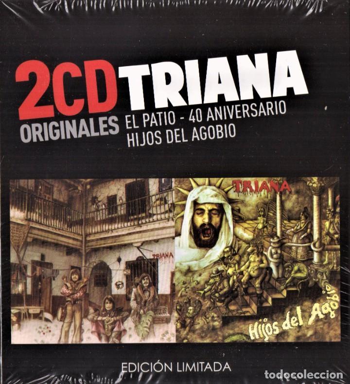 TRIANA 2 CDS EL PATIO 40 ANIVERSARIO HIJOS DEL AGOBIO NUEVO PRECINTADO (Música - CD's Rock)