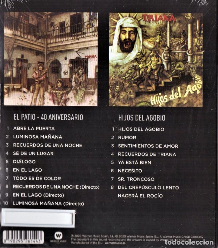 CDs de Música: TRIANA 2 CDS EL PATIO 40 ANIVERSARIO HIJOS DEL AGOBIO NUEVO PRECINTADO - Foto 2 - 286744973