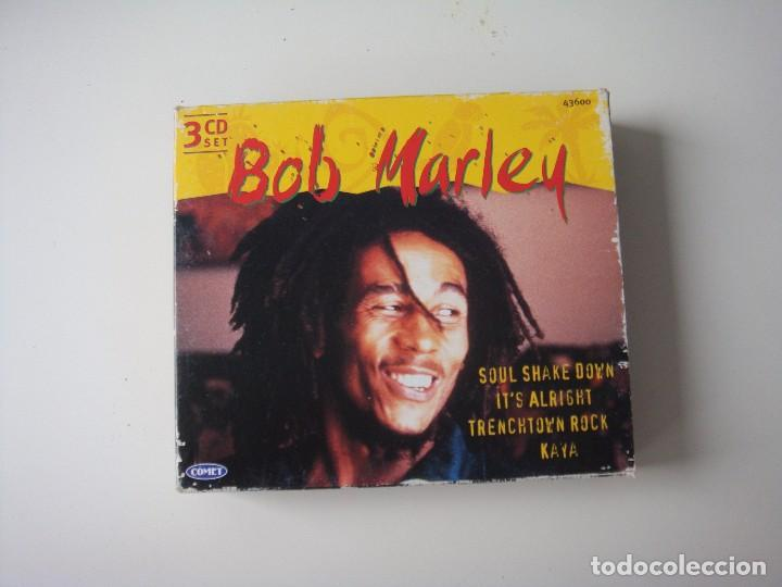 3 CD BOB MARLEY (Música - CD's Reggae)