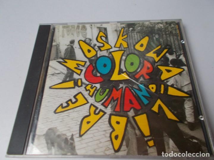 COLOR HUMANO MOSKOWA LIBRE (Música - CD's Reggae)