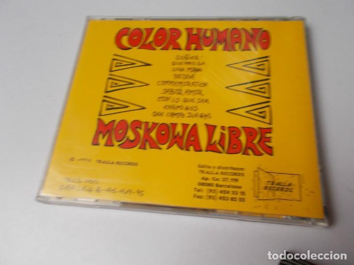 CDs de Música: COLOR HUMANO Moskowa libre - Foto 3 - 287002748