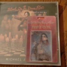 CDs de Música: MICHAEL JACKSON RARE BLOOD ON THE DANCE FLOOR CD WITH PROMO 3D CARD TAIWAN 1997. Lote 287098983