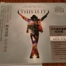CDs de Música: MICHAEL JACKSON RARE THIS IS IT PROMO CALENDAR CD PACK + POSTER. Lote 287099823