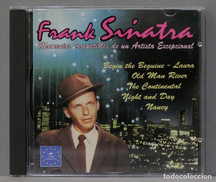CD. MOMENTOS IRREPETIBLES DE UN ARTISTA EXCEPCIONAL. SINATRA (Música - CD's Melódica )