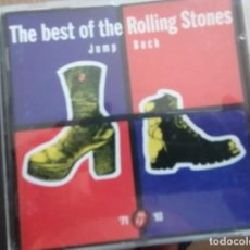 CDs de Música: ROLLING STONES - THE BEST OF THE ROLLING STONES - JUMP BACK '77-'93 - CD 18 TEMAS - VIRGIN 1993. Lote 287143843