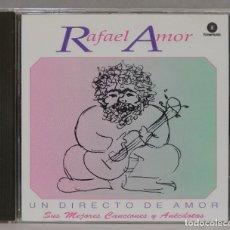 CDs de Música: CD. RAFAEL AMOR. UN DIRECTO DE AMOR. Lote 287143893
