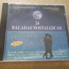 CDs de Música: CD 24 BALADAS NOSTALGICAS. Lote 287152788