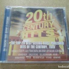 CDs de Música: CD 20 CENTURY HITS. Lote 287157543