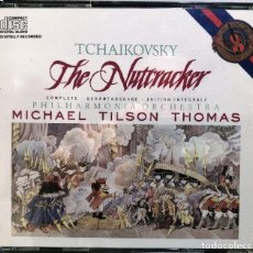 CD de Música: TCHAIKOVSKY - PHILHARMONIA ORCHESTRA, MICHAEL TILSON THOMAS - THE NUTCRACKER - DOBLE CD. Lote 287218628