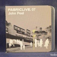 CDs de Música: JOHN PEEL - FABRICLIVE. 07 - CD. Lote 287239568