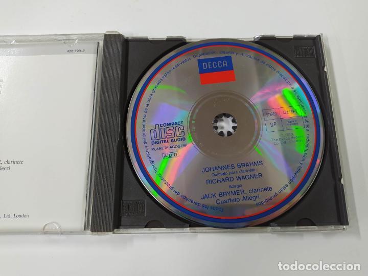 CDs de Música: GRANDES INTERPRETES BRYMER. BRAHMS. QUINTETO PARA CLARINETE. WAGNER. ADAGIO. CD. TDKCD46 - Foto 2 - 287326433