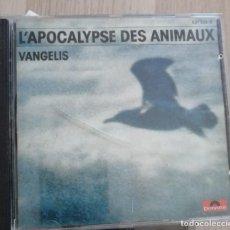 CDs de Música: L'APOCALYPSE DES ANIMAUX, VANGELIS, CD POLYDOR, BSO. Lote 287334738