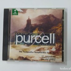 CDs de Música: THE TEMPEST. JOHN ELLITO GARDINER. PURCELL COLLECTION. CD. TDKCD48. Lote 287339198