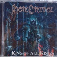 CDs de Música: HATE ETERNAL – KING OF ALL KINGS (EARACHE, 2002) /// MORBID ANGEL NILE KRISIUN BEHEMOTH VADER CORPSE. Lote 287364498