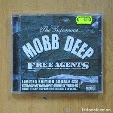 CD de Música: MOBB DEEP - FREE AGENTS THE MURDA MIX TAPE - CD. Lote 287450278
