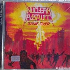 CDs de Música: NUCLEAR ASSAULT – GAME OVER + THE PLAGUE (CENTURY MEDIA, 1999) /// ANTHRAX OVERKILL WASTE HIRAX DARK. Lote 287493293