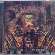 CDs de Música: DISGRACE AND TERROR – TERROR NUCLEAR + SHADOWS OF VIOLENCE (IMPALED RECORDS, 2011) /// THRASH METAL. Lote 287496788