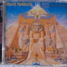 CDs de Música: IRON MAIDEN – POWERSLAVE (EMI, 1998) // ACCEPT SAXON MANOWAR MOTÖRHEAD SABBATH JUDAS METALLICA AC/DC. Lote 287541573