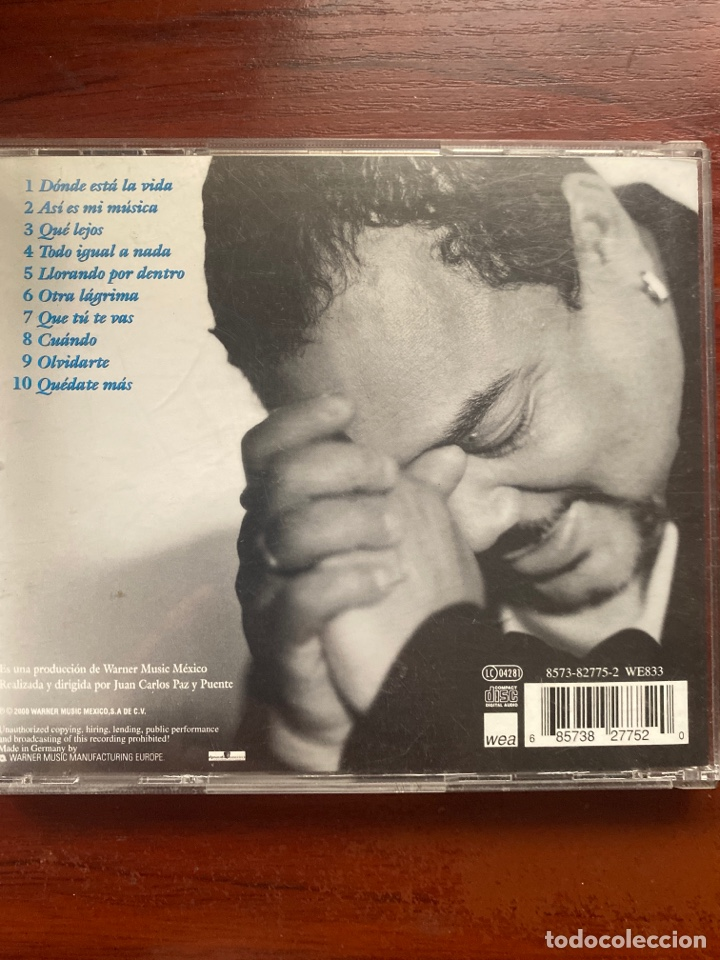 CDs de Música: FRANCISCO CESPEDES-DONDE ESTA LA VIDA-2000 - Foto 2 - 287545753