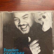 CDs de Música: FRANCISCO CESPEDES-DONDE ESTA LA VIDA-2000. Lote 287545753