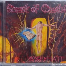 CDs de Música: SCENT OF DEATH – WOVEN IN THE BOOK OF HATE (BLOODY PRODUCTIONS, 2005) // MORBID HATE IMMOLATION NILE. Lote 287605123
