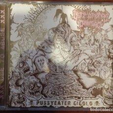 CDs de Música: ULTIMO MONDO CANNIBALE & FACIAL ABUSE – SPLIT (HECATOMBE RECORDS, 2010) /// HAEMORRHAGE ROMPEPROP. Lote 287606763