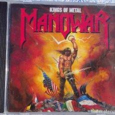 CDs de Música: MANOWAR – KINGS OF METAL (ATLANTIC RECORDING, 1988) /// IRON MAIDEN SAXON JUDAS PRIEST MOTÖRHEAD DIO. Lote 287609728