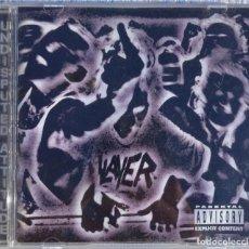 CDs de Música: SLAYER – UNDISPUTTED ATTITUDE (AMERICAN RECORDINGS, 1996) /// OVERKILL TESTAMENT KREATOR EXODUS. Lote 287610033
