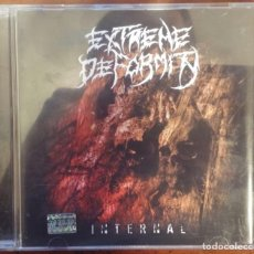 CDs de Música: EXTREME DEFORMITY – INTERNAL (NEVERHEAD DISTRO, 2011) // PUNGENT STENCH CARCASS CANNIBAL IMMOLATION. Lote 287610923