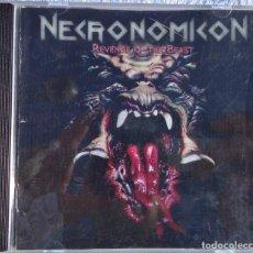 CDs de Música: NECRONOMICON – REVENGE OF THE BEAST, 25 YEARS OF THRASH (XTREEM MUSIC, 2008) // KREATOR SODOM SLAYER. Lote 287612458