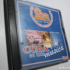CDs de Música: CD CUBA ES TODA MÚSICA. VOLUMEN II. COLAEIQ 2001 CUBA 14 TEMAS (BUEN ESTADO). Lote 287623903