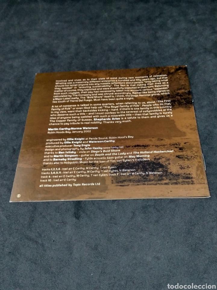 CDs de Música: WATERSON : CARTHY - A DARK LIGHT - 2002 - CD - DISCO VERIFICADO - Foto 4 - 287628763