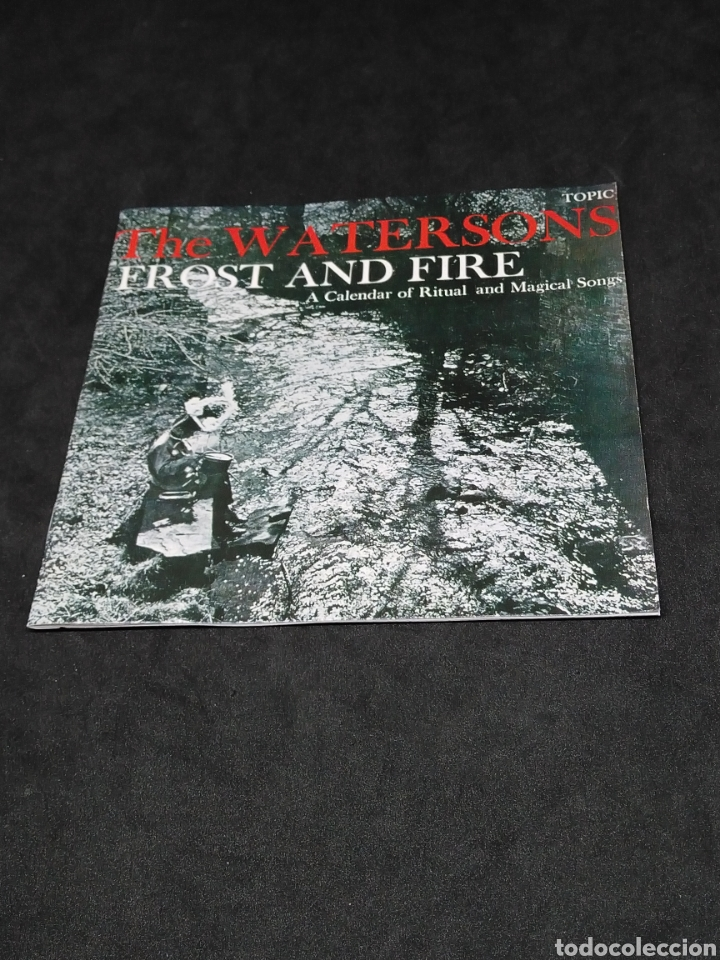CDs de Música: THE WATERSONS - FROST AND FIRE - A CALENDAR OF RITUAL AND MAGICAL SONGS - 1990 - CD VERIFICADO - Foto 3 - 287629193