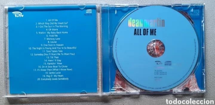 CDs de Música: CD de DEAN MARTIN. LEER BIEN LA DESCRIPCIÓN Y CONDICIONES ANTES DE PUJAR O COMPRAR. - Foto 3 - 287642093