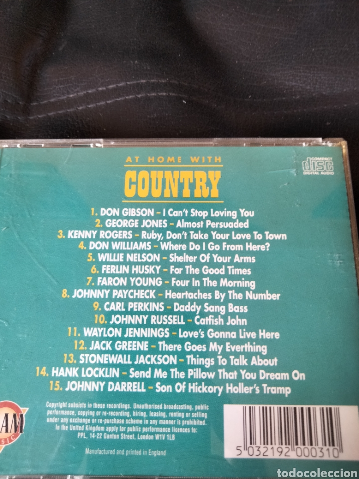 CDs de Música: At home with Country. CD - Foto 2 - 287678623