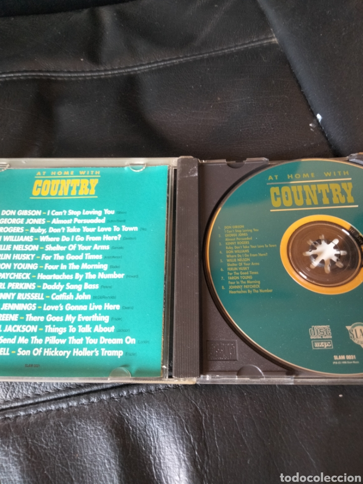 CDs de Música: At home with Country. CD - Foto 3 - 287678623